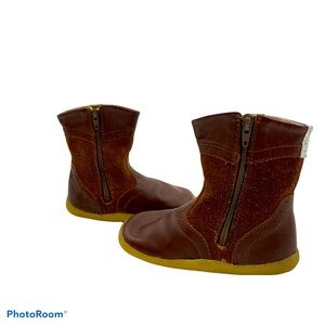 Bobux Kids I-Walk Brown Leather Toddler Boots 4.5